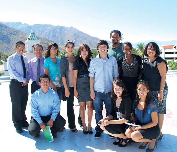 Interns Tour Desert Regional Medical Center