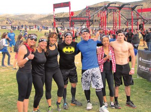 DiFrancesco and her Spartan tribe