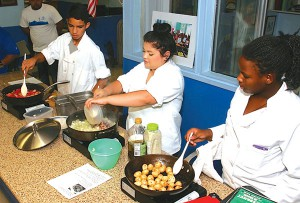 Culinary program participants share their learned skills