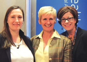 Lauren with Clinton Health Matters Initiative CEO Rain Henderson and Regional Director Tricia Gehrlein