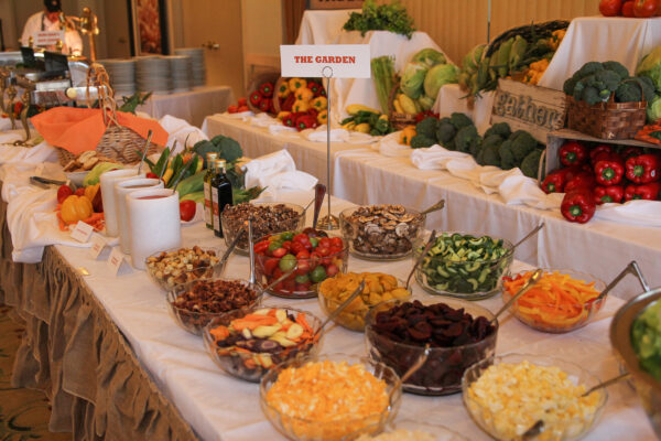 vegetarian and raw cuisine selections