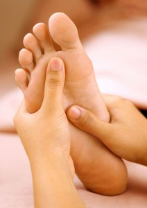 Points on the feet link to organs and can assist in healing and balancing  the body.