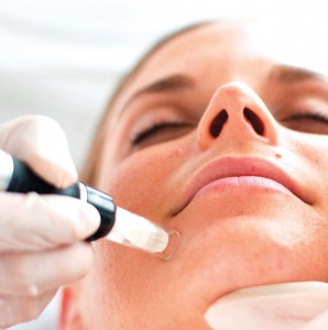 Micro-needling stimulates the body's own collagen and elastin production