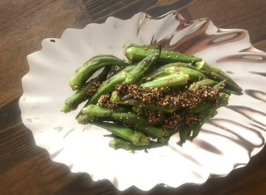 Healthy Fried Okra
