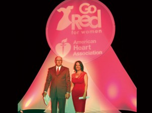 Dr. Frank Kerrigan and his wife Deborah, new co-chairs of the Valley's Go Red For Women campaign